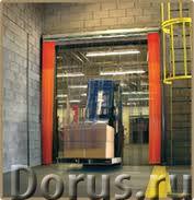 ПВХ шторы и занавеси для склада - Строительные услуги - ПВХ шторы и занавеси для склада и складских..., фото 1