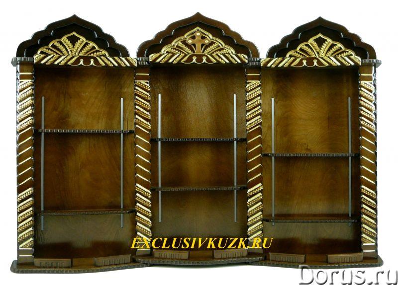 Домашние иконостасы, полки под иконы, киоты, аналои - Прочая мебель - Изготовление и продажа: домашн..., фото 10