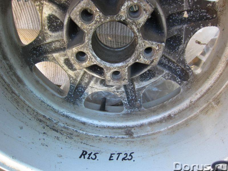 Литой диск R15 x ET25 x 7J _Ромашка_для Мерседес W126 - Запчасти и аксессуары - Для Мерседес W126 пр..., фото 4