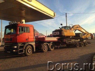 Услуги низкорамной платформы (трал 20,30,40 тонн) - Перевозки - Перевозим любые грузы (грузоперевозк..., фото 1