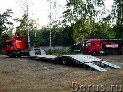 Услуги низкорамной платформы (трал 20,30,40 тонн) - Перевозки - Перевозим любые грузы (грузоперевозк..., фото 2